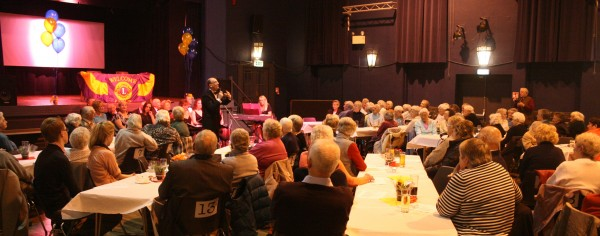 Our annual evening of entertainment for senior citizens from the villages and towns