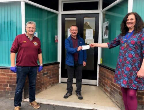 Lions Support Ryedale Foodbank
