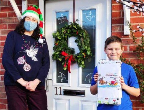 Santa's sleigh totals